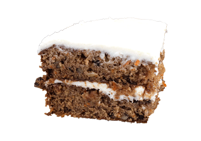 Carrot Cake (with Coconut, Pineaple and Pecans)