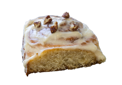 Cinnamon Roll with Pecans