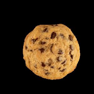 deliciosa y auténtica cookie americana de nutella