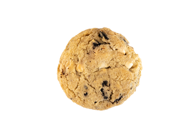 Deliciosa cookie de cookies and cream